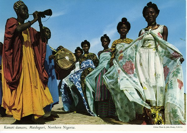 john hinde postcards - northern nigeria