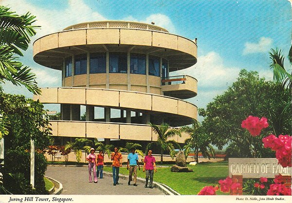 john hinde postcards - Singapore