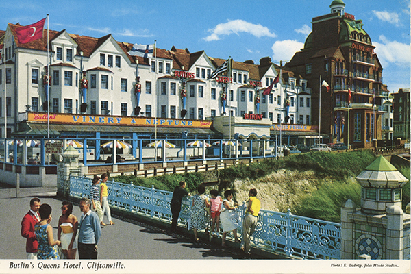 john hinde postcards - Thanet, British Isles